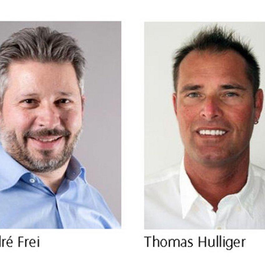 Geschäftsleitung K+B Thomas Hulliger und André Frei