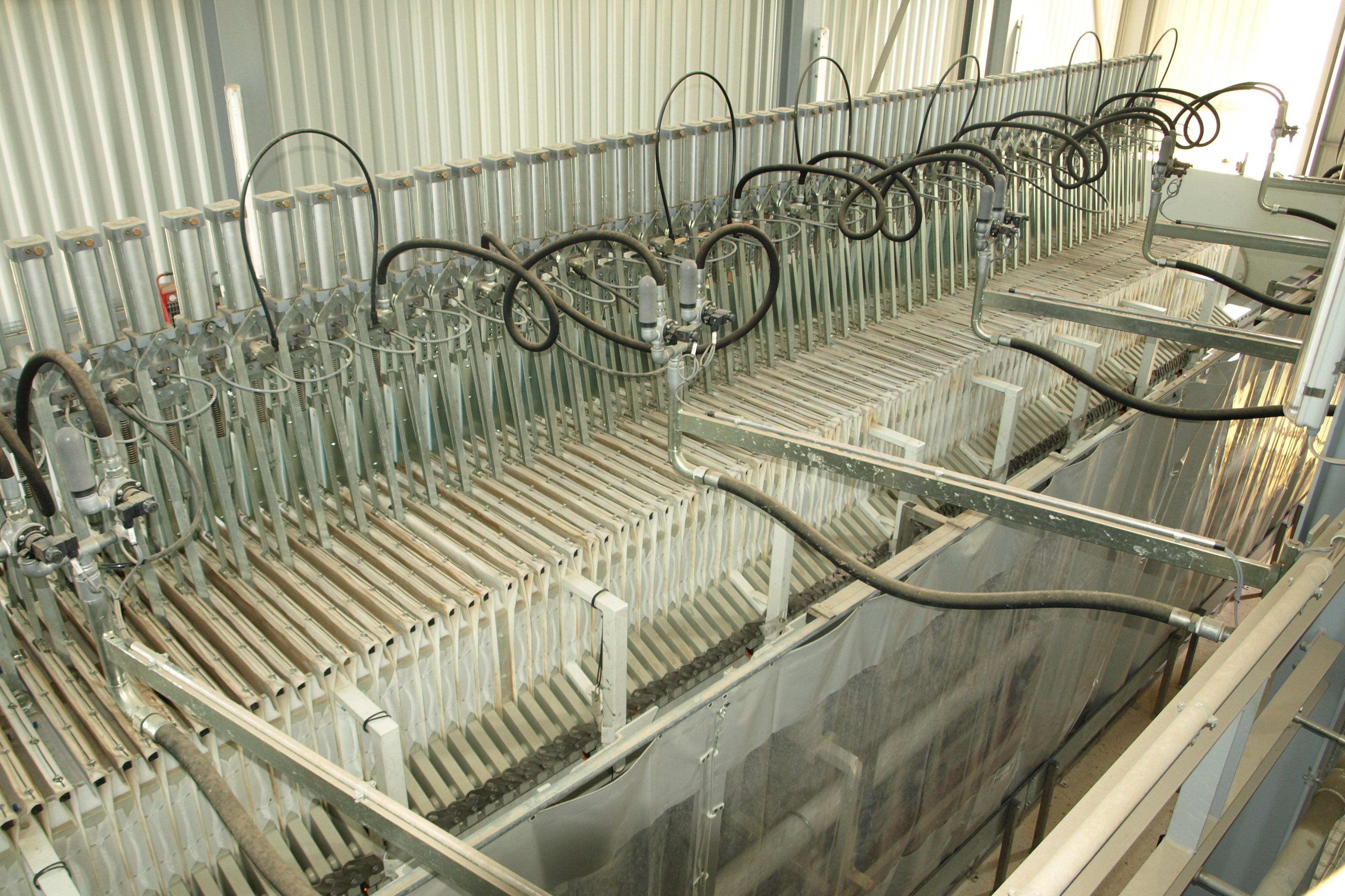 Kammerfilterpresse Aushubwaschanlage